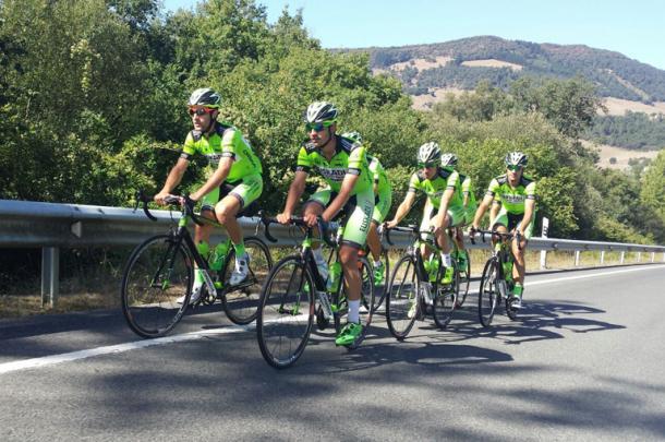 El equipo en una de sus concentraciones / Fuente: Euskadi Murias