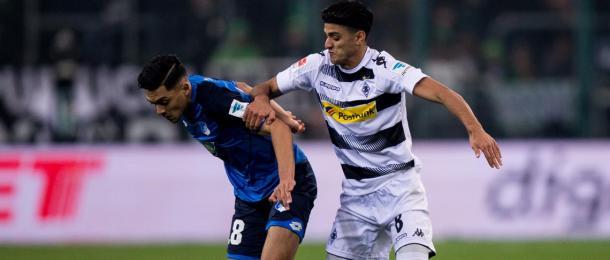 Amiri y Dahoud, goleadores en el partido | Foto: Hoffenheim
