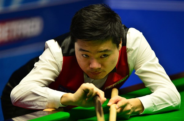 Ding possesses impeccable concentration (photo: Live Snooker)