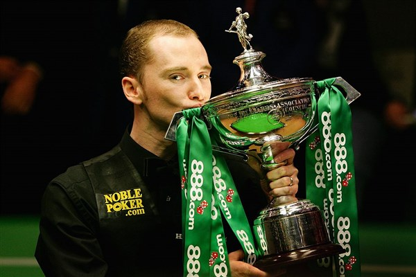 These moments seem far away for Graeme Dott at present (photo: Live Snooker)