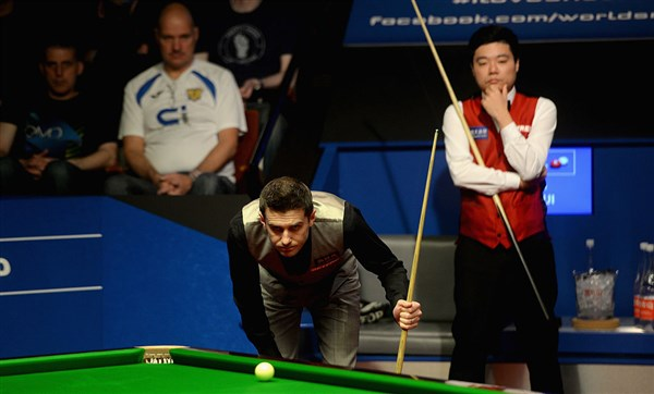 Ding won the tactical battle (photo: Live Snooker)