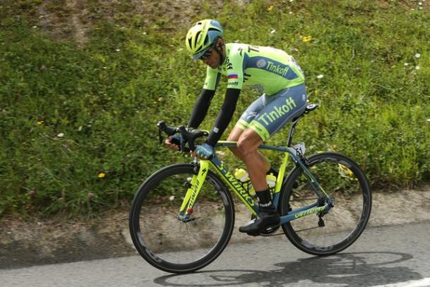 Ganador en la Vuelta al País Vasco  | Foto: Tinkoff Oficial