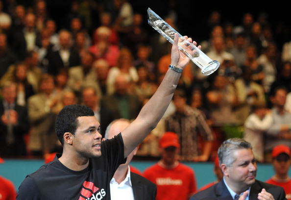Jo-Wilfried Tsonga winning Vienna in 2011 (Photo: Samuel Kubani/Getty Images)