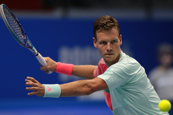 Tomas Berdych during the St.Petersburg Open (Photo: NurPhoto)