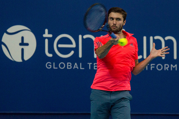 Gilles Simon during Antwerp Open (Photo: Pupo/Getty Images)