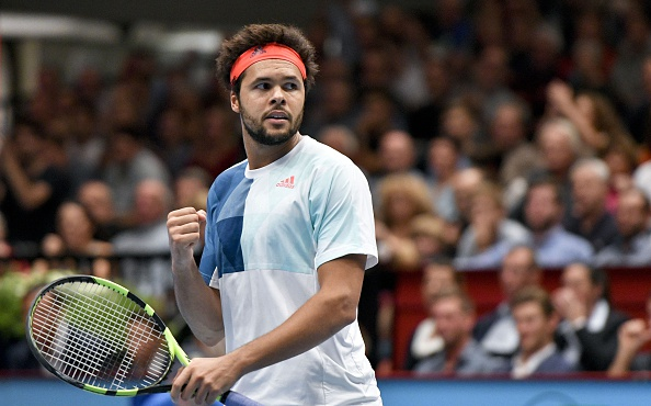 Jo-Wilfried Tsonga reacts to winning a point (Photo: Herbert Neubauer/Getty Images)
