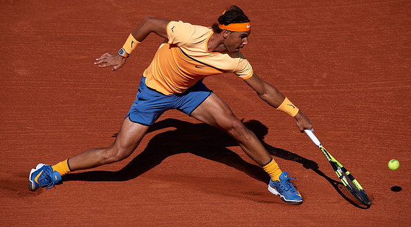Rafael Nadal in action at the Barcelona Open Banc Sabadell tournament (Photo: Manuel Queimadelos Alonso/Getty Images)
