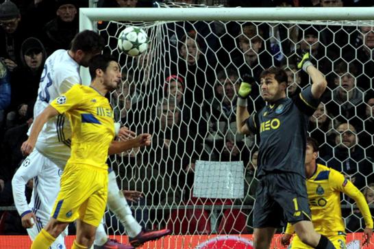 Porto no pasó de empate en UCL. Foto: @portofc