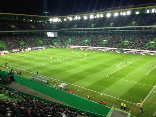 Estádio José Alvalade. Sporting - Braga. Foto: @Sporting_CP