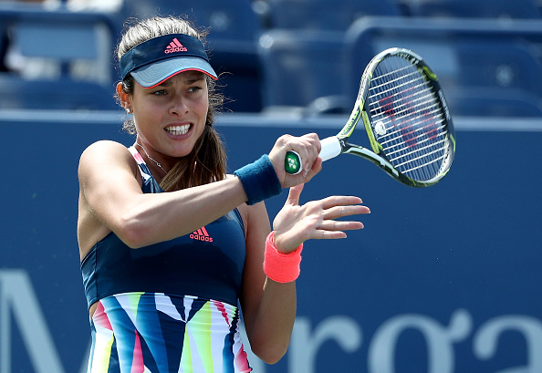 Ana Ivanovic in action at the US Open in August, her last professional competitive tournament (Photo: Elsa/Getty Images)