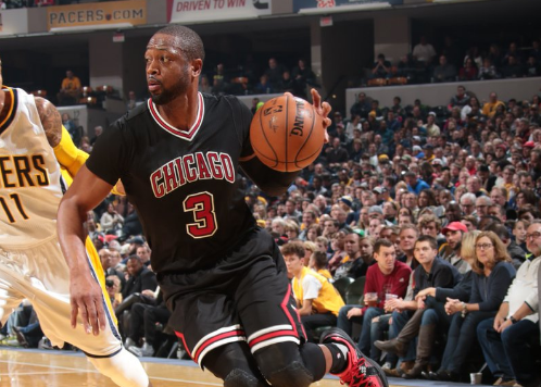 Wade in azione - @chicagobulls Twitter
