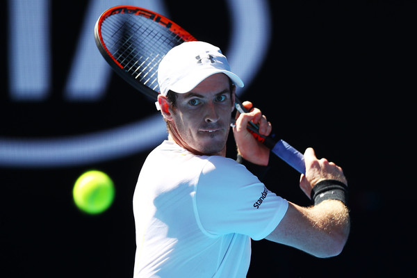 Murray came through his first round match in three tough sets (Photo by Clive Brunskill/Getty Images)