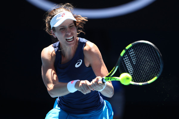 Konta will drop to number ten in the rankings after his semifinal showing in Melbourne last year (Photo: Clive Brunskill/Getty Images Asia Pac)