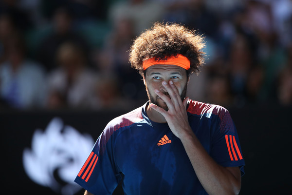 Tsonga was flat throughout the match (Photo by Cameron Spencer/Getty Images)