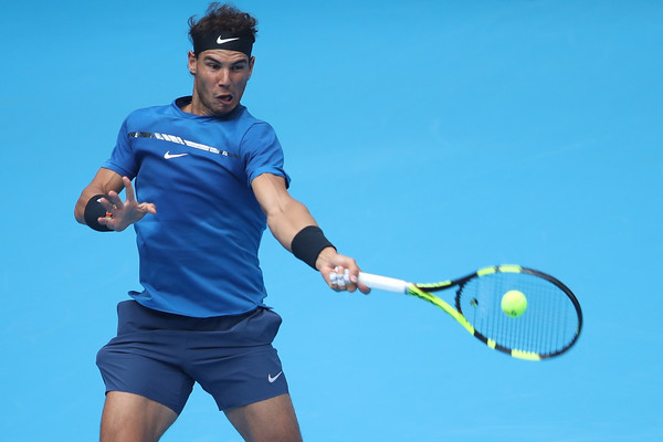 Rafael Nadal in action | Photo: Lintao Zhang/Getty Images AsiaPac