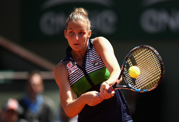 Karolina Pliskova would be pleased with her performance today | Photo: Julian Finney/Getty Images Europe