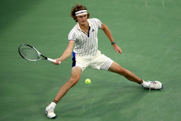 Zverev was uncharacteristically passive and will surely depart New York with regrets (Photo: Matthew Stockman/Getty Images North America)