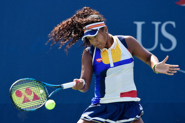 Naomi Osaka in action | Photo: Steven Ryan/Getty Images North America