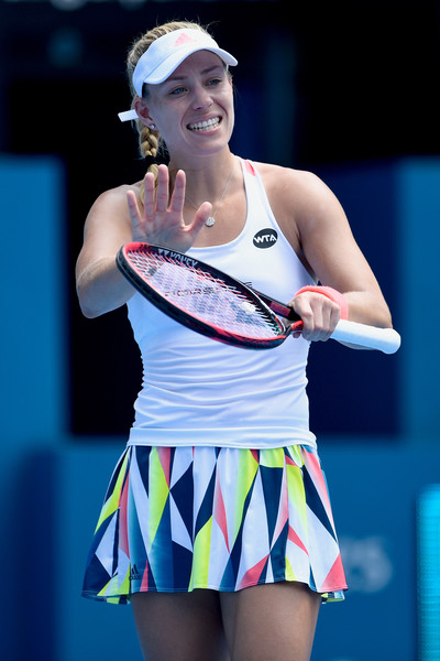 Angelique Kerber frustrated with herself today | Photo: Jimmie48 Tennis Photography