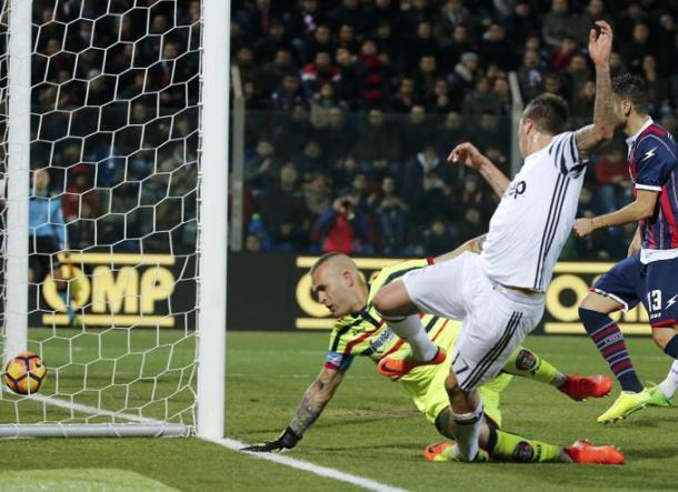 Il gol di Mandzukic. Foto: La Stampa