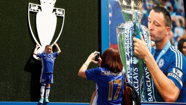 Stamford Bridge se prepara para despediar a John Terry | Foto: Premier League.
