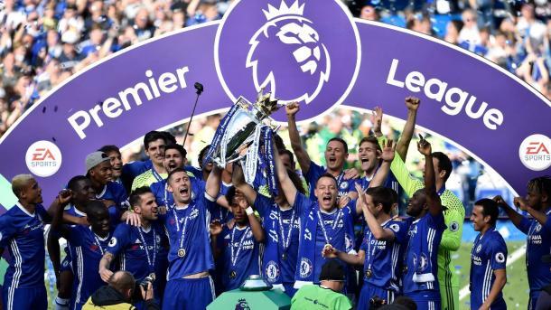 Chelsea gritó campeón en la primera mitad del año | Foto: Premier League.