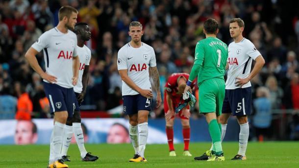 Fabianski tuvo un gran partido en Wembley | Foto: Premier League.