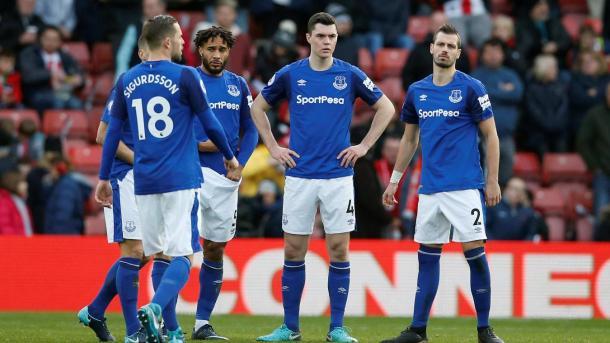 Everton sigue sin levantar su rendimiento | Foto: Premier League.