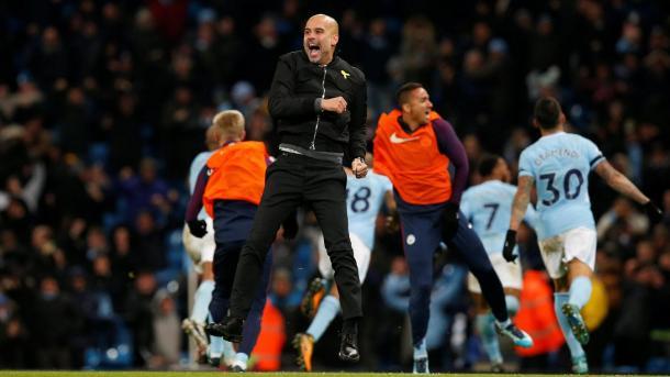 Guardiola logró plasmar su idea de juego | Foto: Premier League.