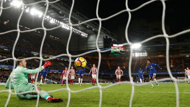 Chelsea goleo a Stoke por 5-0   Foto: Premier League.