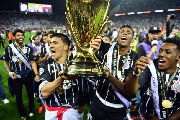 No mesmo ano, o Corinthians ainda viria a ser campeão brasileiro. (Foto: Agência Corinthians / Divulgação)