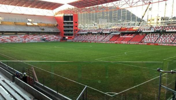 Estadio Nemesio Diez, sede del Toluca vs Chivas