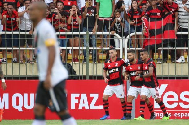 Flamengo superou rival Vasco na semifinal da TG (Foto: Gilvan de Souza/Flamengo)