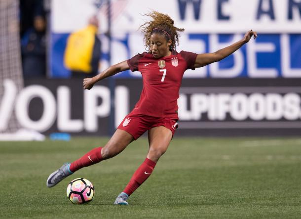 Casey Short in action for the national team. Source: US Soccer