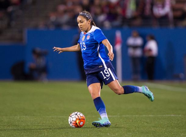 Jaelene Hinkle returns to the USWNT | Source: ussoccer.com