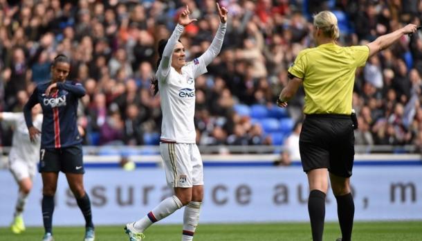 Massacre do Lyon marcou o último confronto na UWCL (FOTO: Divulgação/UEFA)