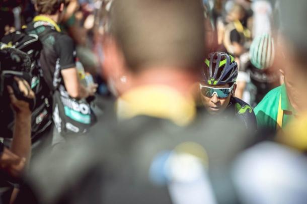 Nairo Quintana sigue cediendo tiempo. | Foto: TDF