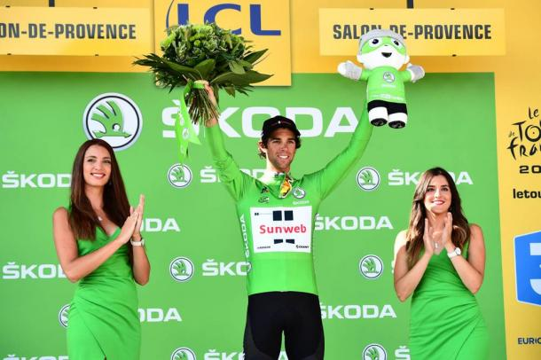 Michael Matthews ganará el maillot verde. | Foto: TDF