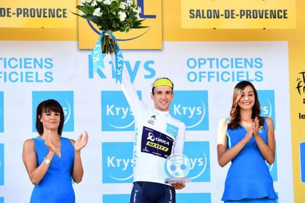 Simon Yates terminará como mejor joven del Tour. | Foto: TDF