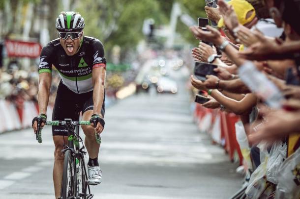 Boasson Hagen terminó tan feliz como agotado. | Foto: TDF