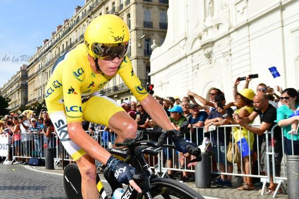 Chris Froome, virtual ganador del Tour de Francia 2017. | Foto: TDF