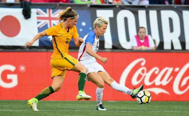 The USWNT will face Australia in the Tournament of Nations before the qualifiers | Source: ussoccer.com