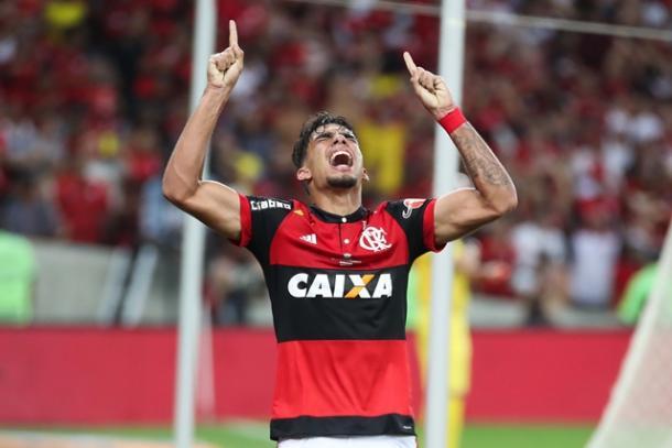 Lucas Paquetá marcou o gol do Flamengo nesta quinta-feira (7) (Foto: Gilvan de Souza/Flamengo)