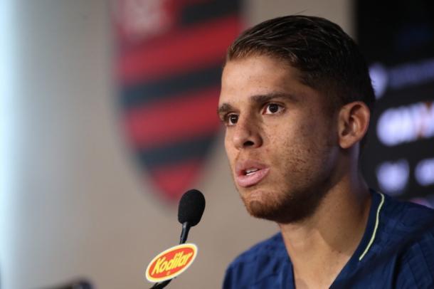 Cuéllar, do Flamengo, falou sobre a a equipe do Avaí