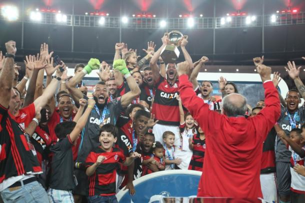 Flamengo conquista título do Carioca (Foto: Gilvan de Souza/Flamengo)