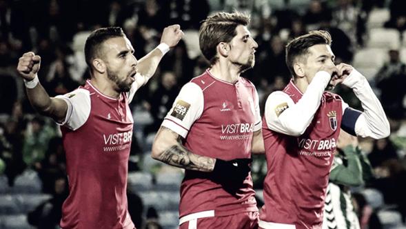 Braga en el juego de semifinales. Foto: Braga Oficial.
