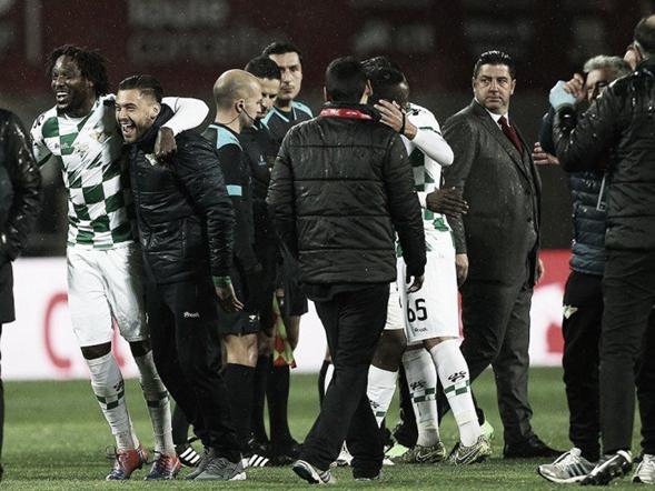 Moreirense festejando su pase a la gran final. Foto: Moreirense Oficial.