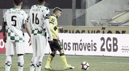 Moreirense ganó de visita en la J18. Foto: Pacos de Ferreira Oficial.