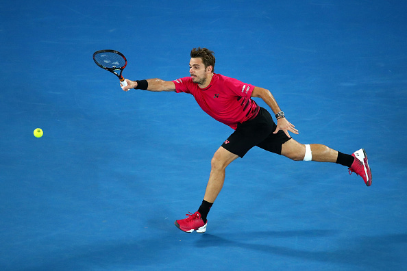 Stan Wawrinka at the Australian Open (Photo: Cameron Spencer/Getty Images)