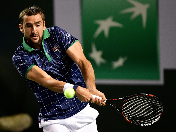 Marin Cilic during Indian Wells (Photo: Harry How/Getty Images)